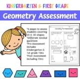 Geometry Math Assessment - K&1