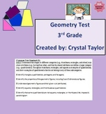Geometry Math Assessment: Multiple Choice Questions: Commo