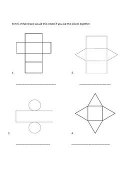 Geometry Math Exam Grade 3-4