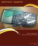 Geometry Math Facts Ebook