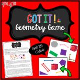 Geometry Math Game - Got It! 4th - 6th