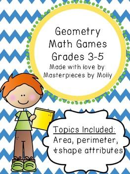 Geometry Math Games