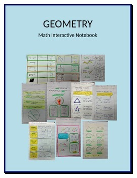 Math Interactive Notebook Geometry