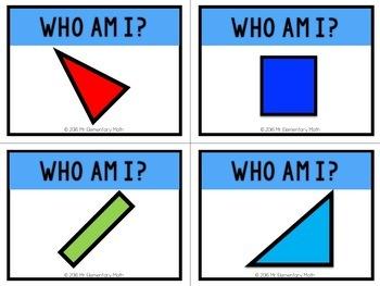 Geometry Math Name Tags