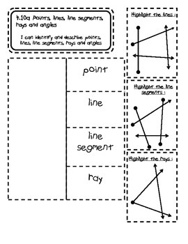 Geometry Math Notebook Pages