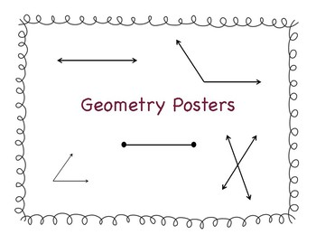 Geometry Math Poster for Display
