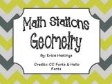 Geometry Math Stations