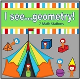 Geometry Math Stations (Common Core)