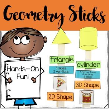 Geometry Math Sticks