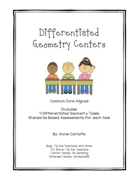 Differentiated Geometry Tasks