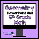 Geometry Math Unit 5th Grade Interactive Powerpoint Common Core