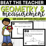 Geometry & Measurement Game: Beat the Teacher