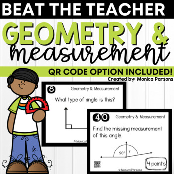 Geometry & Measurement Game: Beat the Teacher