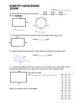 Geometry & Measurement Comprehensive Review