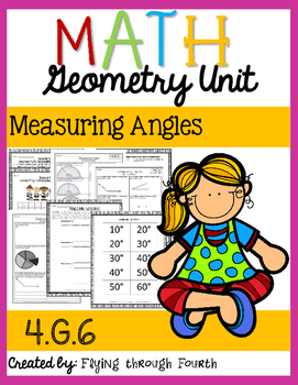 Geometry: Measuring Angles 4.MD.6