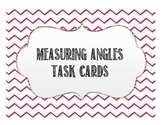 Geometry Measuring Angles Task Cards