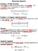 Geometry: Measuring Segments Vocabulary