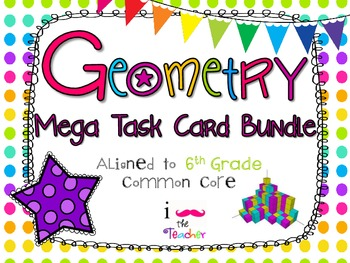 Geometry Mega Task Card Bundle