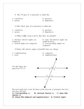 Geometry Midterm 2006