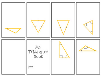 Geometry Mini Interactive Notebooks for Geometric Vocabulary
