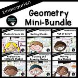 Geometry Bundle (Kindergarten-K.G.1, K.G.2, K.G.3, K.G.4, K.G.5, and K.G.6)