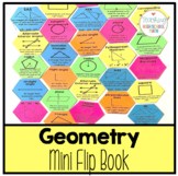 Geometry Mini Flip Book for Vocabulary, Definitions, Formulas