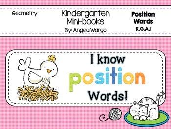 Geometry Mini Reader – Position Words