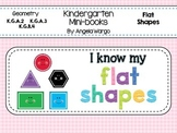 Geometry Mini Readers Flat Shapes BUNDLE