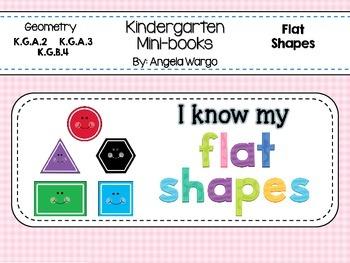 Geometry Mini Readers Flat Shapes BUNDLE