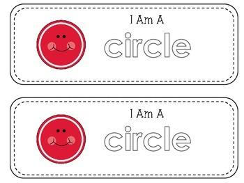 Geometry Mini Readers – Flat Shapes – Circle
