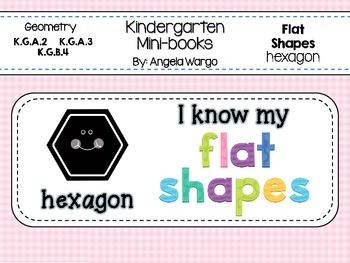 Geometry Mini Readers – Flat Shapes – Hexagon
