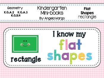Geometry Mini Readers – Flat Shapes – Rectangle