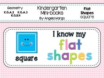 Geometry Mini Readers – Flat Shapes – Square