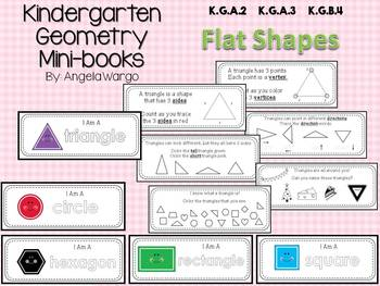Geometry Mini Readers - MEGA BUNDLE – Flat Shapes, Solid Shapes, Position Words