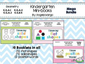 Geometry Mini Readers - MEGA BUNDLE – Flat Shapes, Solid S