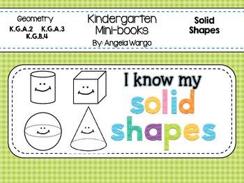 Geometry Mini Readers - Solid Shapes BUNDLE