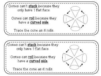 Geometry Mini Readers – Solid Shapes – cone