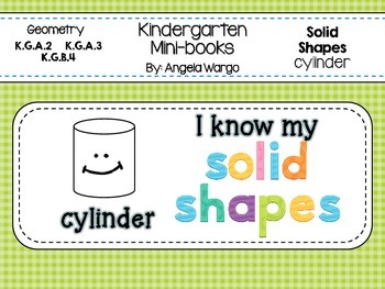 Geometry Mini Readers – Solid Shapes – cylinder