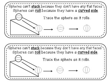 Geometry Mini Readers – Solid Shapes – sphere