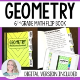 Geometry Mini Tabbed Flip Book for 6th Grade Math