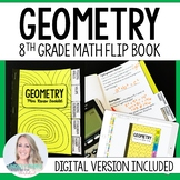 Geometry Mini Tabbed Flip Book for 8th Grade Math