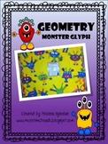 Geometry Monster Glyph: Craftivity