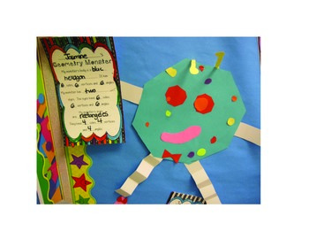 Geometry Monster - Learning about Shapes