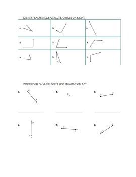 Geometry Morning Work