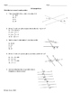 Geometry Multiple Choice Practice by SOL Standard