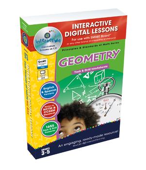 Geometry - NOTEBOOK Gr. 3-5