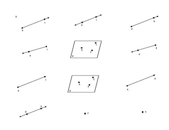Geometry Notation Activity