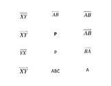 Geometry Notation Activity