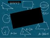 Geometry Notebook PowerPoint Template