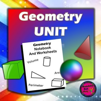 Geometry Notebook and  WS packet Bundle